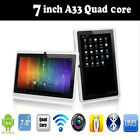 7 Inch 8 GB Touchscreen Tablet PC Android Quad-core Dual Cameras Supported WIFI
