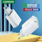 Ugreen PD Charger 30W USB Type C Fast Charger for iPhone 11 X Xs 8 Macbook