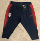 Kyпить Nike USA Soccer Training Pants 3/4 Length Vaporknit Capri RARE USMNT на еВаy.соm