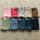 NWT Tommy Hilfiger Men's TH Flex Stretch Classic Fit Chino Pants 10 Color All Sz