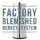 Berkey Water Filter Purify w/ 2 BB-9 Black Filters System Authorized Blemished