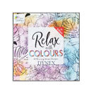 NEW EDITION COLOURING BOOK Adult Stress Relief Colour Therapy ZEN CALM