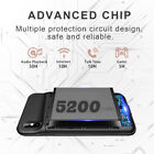For iPhone X/XS MAX Battery Charging Case External Power Bank Backup Charger US