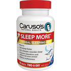 CARUSO'S NATURAL HEALTH SLEEP MORE - HERBAL SLEEPING AID $37.95 AUD on eBay