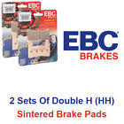 EBC Double H Brake Pad Set For BMW R 45 1978 - 1985