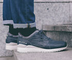 Asics Gel-Lyte III Dark Grey Leather Shoes Trainers UK 4.5, 5, 7.5, 8.5, 9