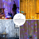 300 LED String Fairy Lights Curtain Xmas Wedding Party Christmas Decor w/ Remote