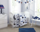 3PC CRIB BEDDING SET NEW BORN BABY ROOM NURSERY COMFORTER,SHEET & PILLOW BEDTIME