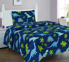 BOYS AND GIRLS BED PREMIUM COLLECTION PRINTED BEDDING COMPLETE SHEET SET