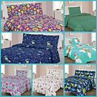 Kyпить BOYS AND GIRLS BED  PREMIUM COLLECTION PRINTED BEDDING COMPLETE SHEET SET  на еВаy.соm