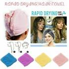 Rapid Quick Drying Hair Absorbent Towel Cap Soft Thick Shower Hat Hair Dryer Hat