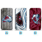 Colorado Avalanche Leather Case For iPhone X Xs Max Xr 7 8 Plus Galaxy S9 S8 $8.99 USD on eBay