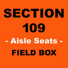 2 METS vs NATIONALS - 3/29/2020 - CITI FIELD - FIELD LEVEL - AISLE - TICKETS on Ebay