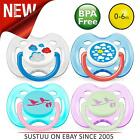 Philips Avent Fashion BPA Free Soothers│Baby's Pacifier│Kid's Dummies│0-6m│2Pk