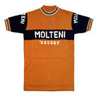 MAGLIA MOLTENI Ciclismo Vintage Cycle Bike Jersey Made in Italy
