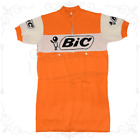 MAGLIA BIC Ciclismo Vintage Cycle Bike Jersey Made in Italy Anquetil
