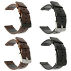 Genuine Leather Watch Band Wrist Strap Armband Quick Release 18mm 20mm 22mm 24mm image