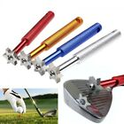 Golf Club Groove Sharpener Cleaning Tools with 6 Cutters Iron Wedge 4 Colors UK