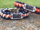 Chicago Bears Paracord Bracelet w/ NFL Dog Tag and Metal Buckle. AWESOME!!! $11.5 USD on eBay
