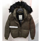 ABERCROMBIE & FITCH WOMENS PUFFER JACKET COAT OLIVE SIZE SMALL