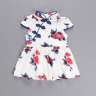 Summer Chinese Qipao Dress Baby Girl Kids Floral Cheongsam Floral Print Costume
