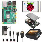 "Raspberry Pi 4 B 2/4/8GB 3.5"" Touch Screen Upgrade Kit with Fan  Power  HDMI"