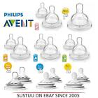 Philips Avent Natural/Airflex BPAFree Slow Medium Fast Newborn Baby Bottle Teats