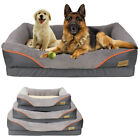 Dog Bed Extra Large Form Faux Fur XL Waterproof Pet Bed Lounge Sofa with Bolster