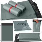 Strong Grey Mailing Bags Poly Packing Plastic Postal Postage Self Seal 12X16 UK