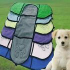 Dog Bath Towels Strong Water Absorption Bath Double Bags Microfiber Towels Qiaod