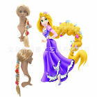 Disney Movies Frozen Snow Anna None Lace Cosplay Wig Synthetic hair Brown