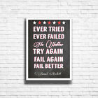 Motivational Inspirational Prints Funny Quote Posters Art * A3 A4 FRAMED OPTIONS