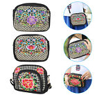 Multi-color Mini Cross Body Embroide Purse Womens Shoulder Bag Girls Cell Phone