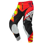 Pantalon Motocross Enduro Alpinestars Racer Braap Rouge Jaune PROMO OUTLET