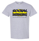 T-shirt social distancing If you can Read this You're Too Close Quarantine shirt