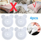 4-20pcs Comforter Grippers Clip Clamp Bed Duvet Donuts Quilt Covers Sheet Holder