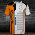 MERCEDES AMG-Top Gift-Man's T-Shirt 3D-SIZE S TO 5XL.. image