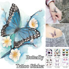 Watercolor Butterfly Temporary Tattoo Sticker Waterproof WomenChildren ArtBody n $1.04 USD on eBay