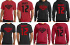 Tom Brady Tampa Bay Buccaneers Jersey T-Shirt or Hoodie Youth and Men's Sizes image