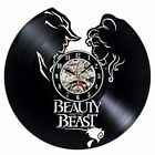 3D Decorative Wall Clock Modern Design Vinyl Hanging Cartoon Clock Home Decor
