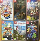 07 18 Brand New Nintendo Switch Games - Plays on ALL Switch Consoles Worldwide $68.9 AUD on eBay