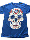 SUGAR SKULL CHICAGO CUBS T-SHIRT DAY OF THE DEAD on Ebay