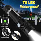 Super Bright 500LM LED Hunting Flashlight 18650 USB Rechargeable Zoom Torch IP65