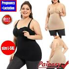 Women's Maternity Pregnant Nursing Camisole Bra Breastfeeding Seamless Tank Tops
