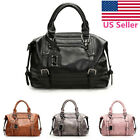 US Elegant Women Lady Leather Messenger Handbag Shoulder Bag Tote Satchel Purse  image