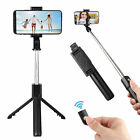 360° Rotation Extendable Bluetooth Shutter Selfie Stick Tripod Phone Mount Stand