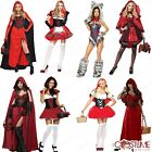 Red Riding Woman Costume Miss Wolf Hottie Storybook Fairy Tale Halloween Outfit