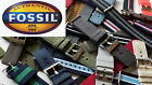 FOSSIL Leather Watch Band Variety of Colors and Sizes NWT image