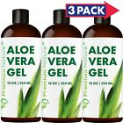 Aloe Vera Gel For Face & Body Moisturizer Variations 12 oz to 5 gal