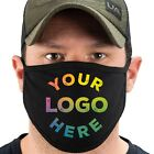 Cotton Face Masks for Businesses Add your Custom logo or Words Made in USA New